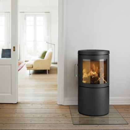 Cylindrical Wood Burning Stove