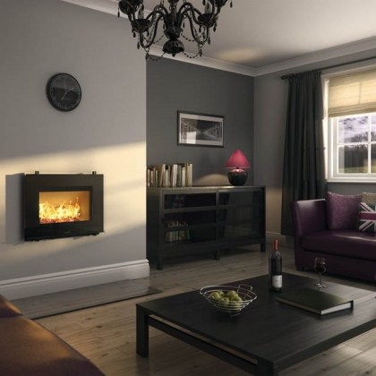 Wall Mounted Wood Burning Stove