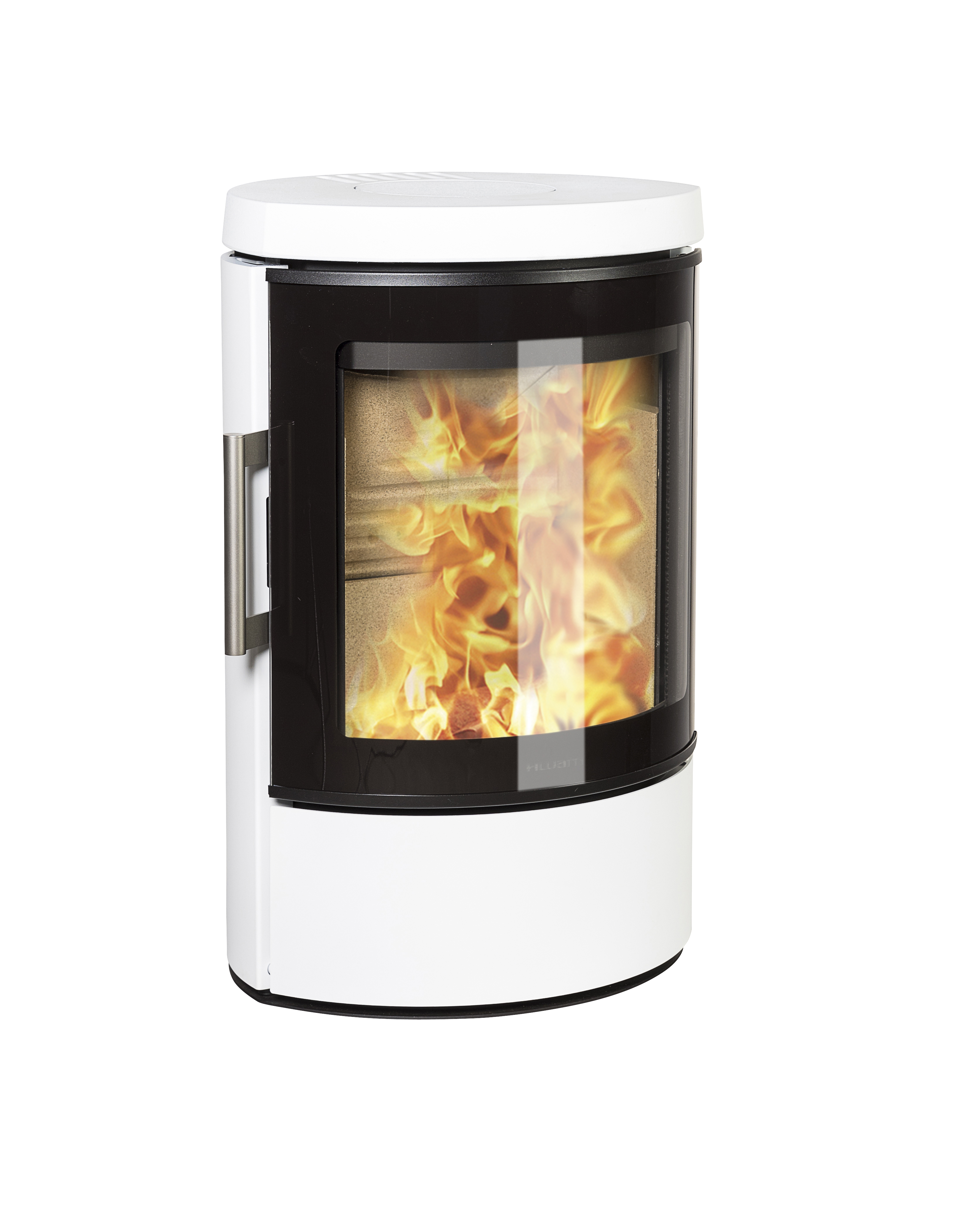 Hwam 3110 Wood Stove In White With A Energy Rating